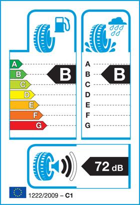 Das EU Reifenlabel zeigt Rollwiderstand, Nasshaftung und Geräuschemission eines Reifens an und soll dem Verbraucher bei der Reifenauswahl helfen.
